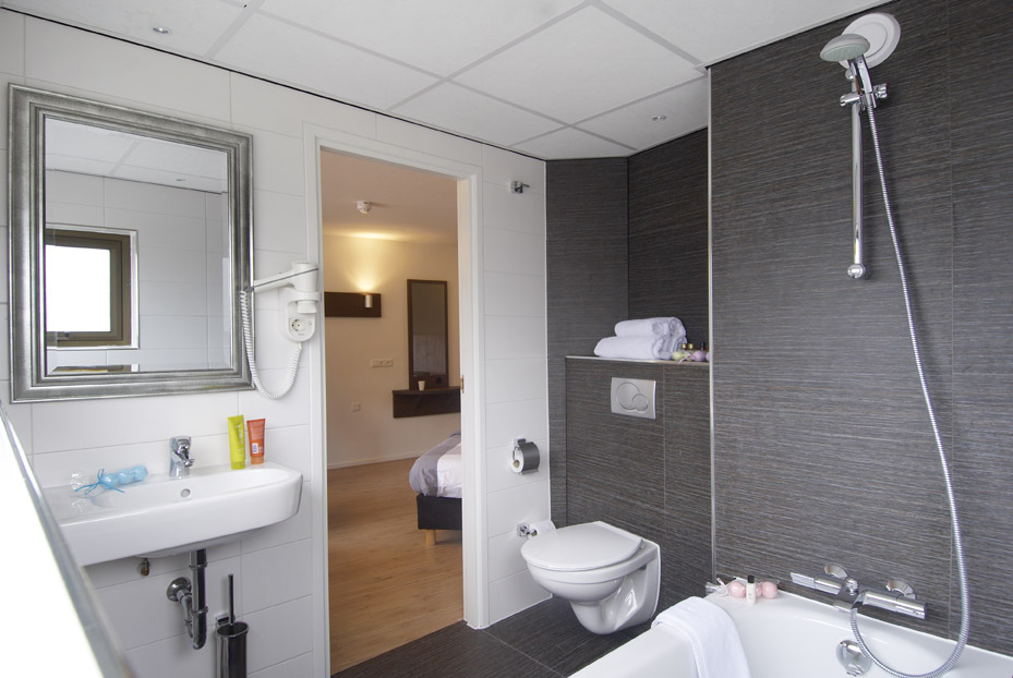 Luxe hotelkamers tot 4 personen in het centrum van Tilburg